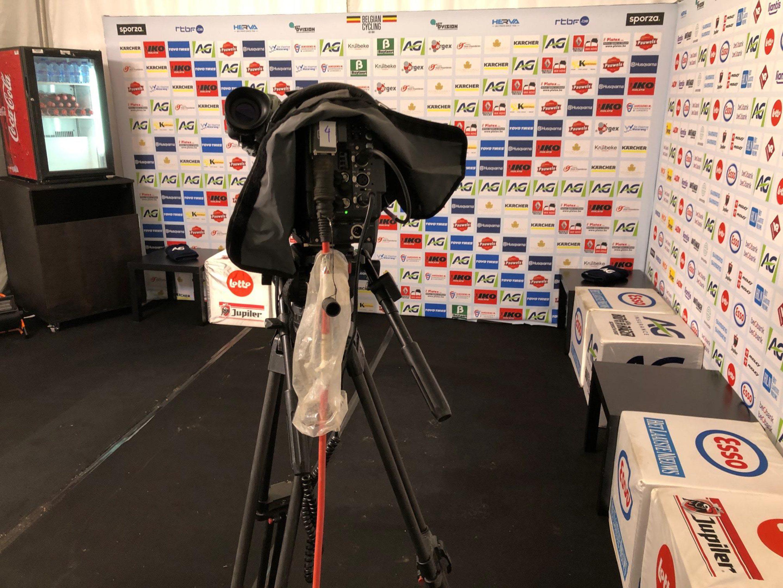 Interviewtent BK Gent 2019 Belgian Cycling