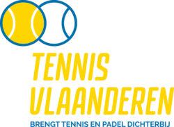 Titellogo Tennis Vlaanderen verticaal positief